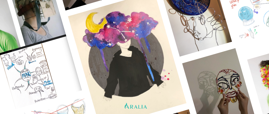 3 awesome art portfolio ideas