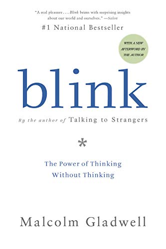 2. Blink – Malcolm Gladwell