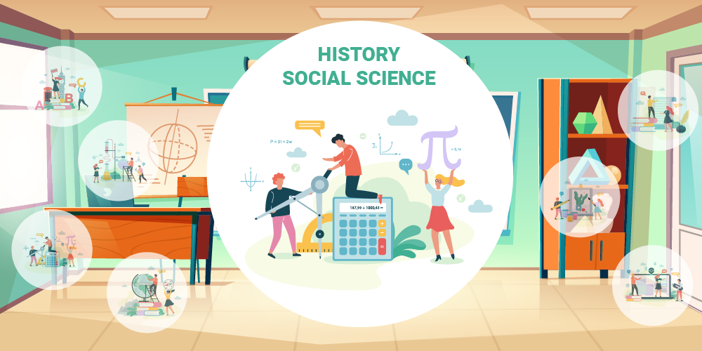 high school history and social science classes