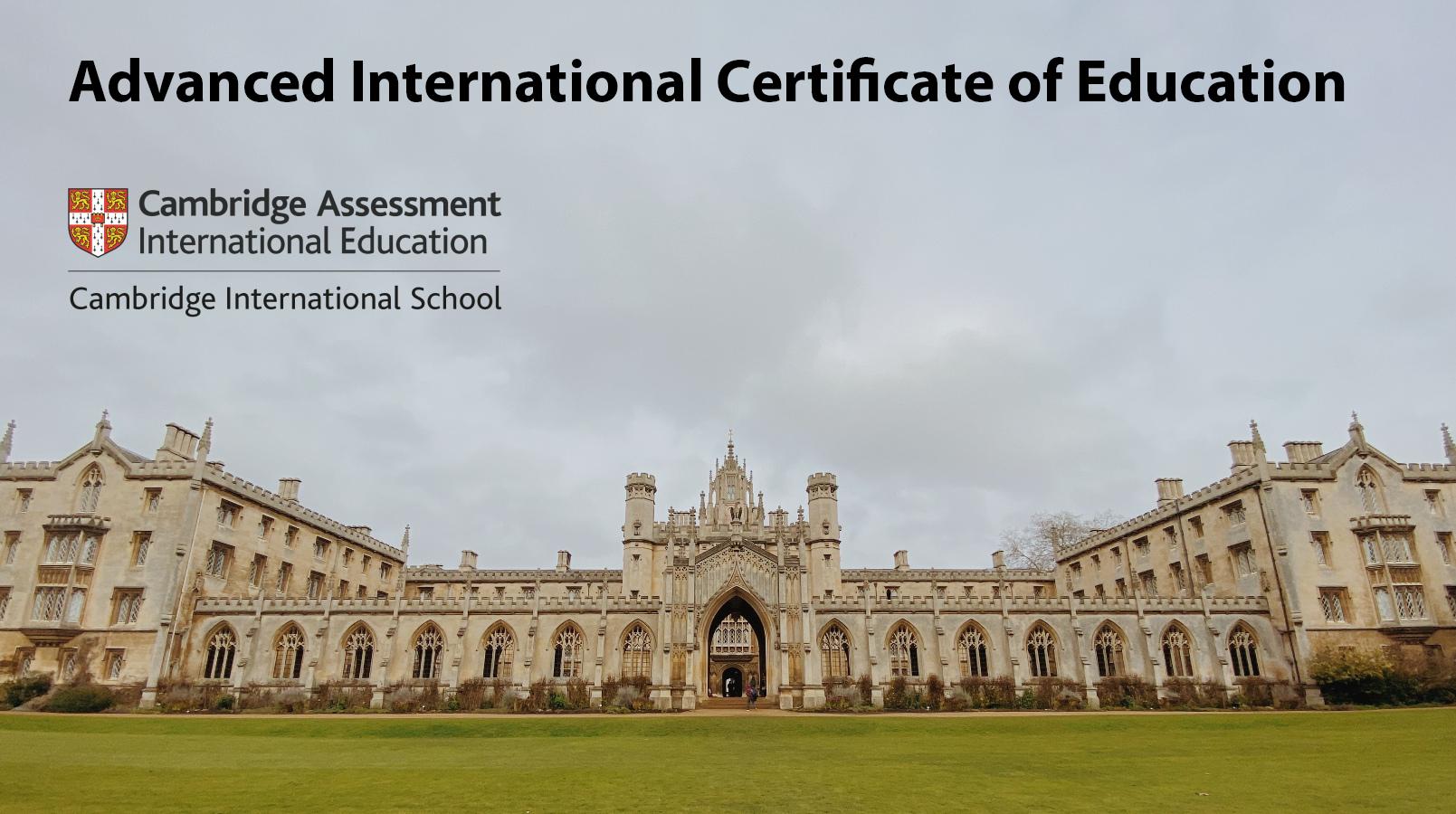 aice Advanced International Certificate of Education