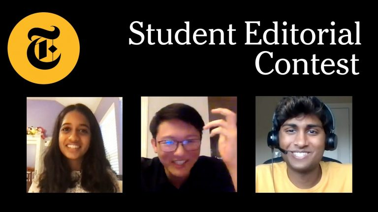 New York Times Students Editorial Contest