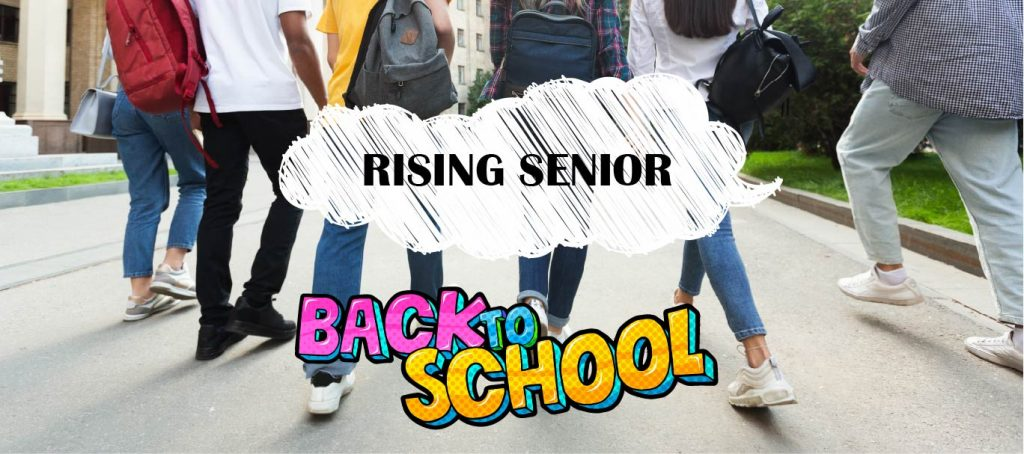 rising senior fall back to school checklist